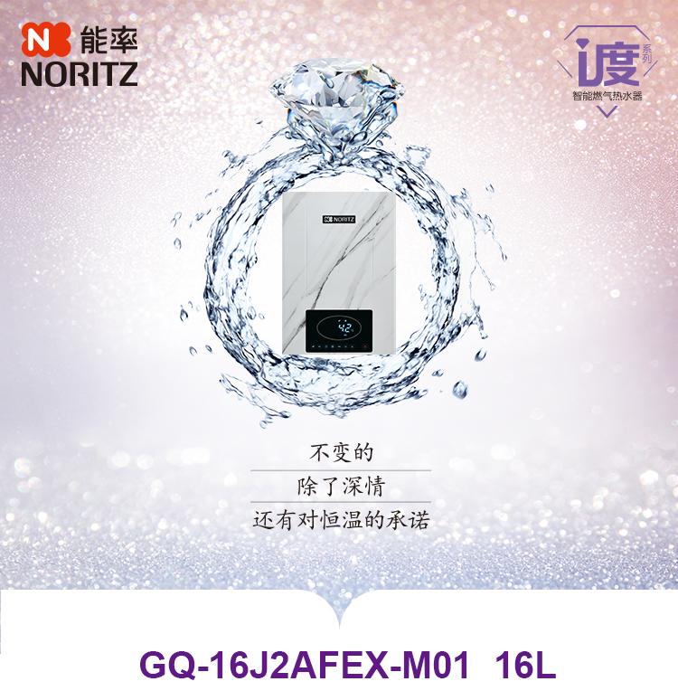 GQ-16J2AFEX-M01,智能恒温型燃气热水器